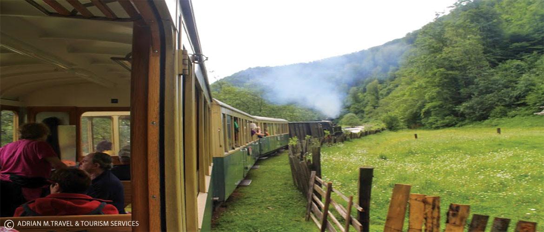 רכבת קיטור בהרי רודנה